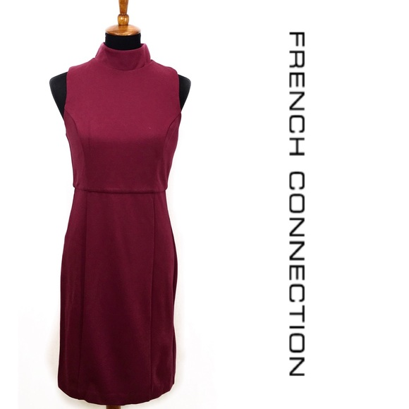 French Connection Dresses & Skirts - French Connection Burgundy Dress